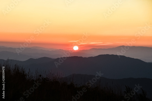 Max Patch in the Smoky Mountains in North Carolina Wallpaper Mural