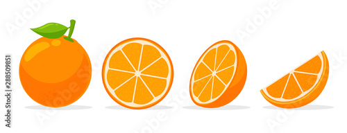 Fotomural  Citrus fruits that are high in vitamin C