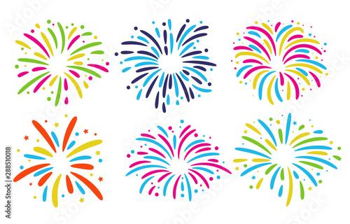 Pinturas sobre lienzo  Fireworks Floor Collection