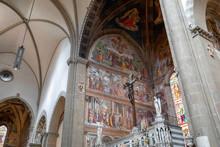 Panoramic View Of Interior Of ...
