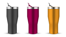 Tumbler Cup With Open Push-in ...
