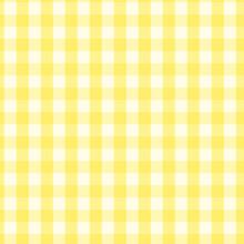 Seamless Checkered Pattern. Seamless Checkered Pattern. Coarse Vintage Yellow Plaid Fabric Texture.