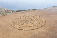A Circular Rock Labyrinth Is F...
