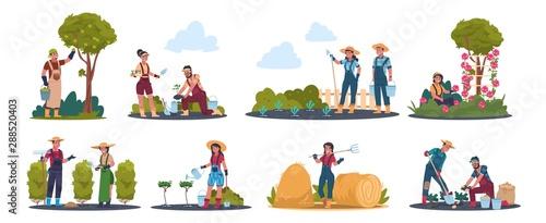 Obraz na płótnie Agricultural work