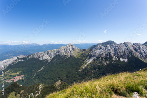 View from Monte Sagro, apuan alps