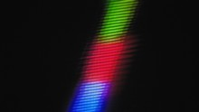 A Distorted Vertical RGB Color...