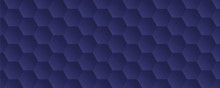 Blue Abstract Honeycomb Backgr...