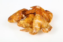Smoked Chicken Wings Over Whit...