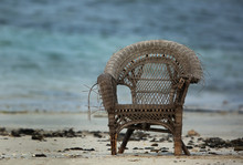 Abundant Broken Chair At Sea Beach