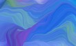 curved lines waves with royal blue, medium aqua marine and strong blue colors. modern illustration can be used for canvas, poster, graphic or wallpaper