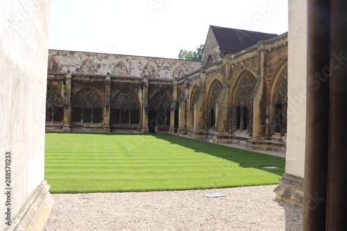 Cloître de l'Abbaye de Westminster dant du 13 ème siècle - Londres - Royaume Uni Canvas Print