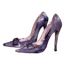 High Heels Shoes Sketch Glamou...