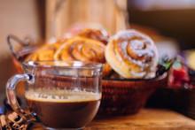 Black Coffee And Cinnamon Buns...