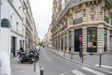 Fototapeta Uliczki - Froissart street in Paris