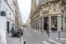 Froissart Street In Paris
