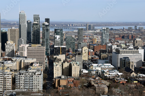 View of Montreal, Quebec, Canada