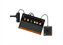 Game Atari Console Vector Format