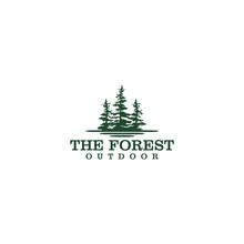 Outdoor Mountain Nature Logo -...