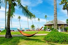 Tropical Beach Resort. Empty H...