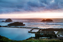Stormy Sunset Over Sutro Baths...