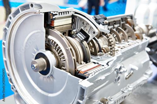 8-speed hybrid gearbox Fototapete