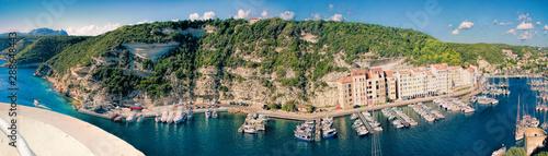 Poster de jardin Europe Méditérranéenne Bonifacio - PicturesqueCapital of Corsica, France