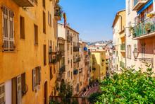 Street View Of Nice, Cote D'Az...