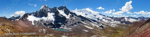 Ausangate, peruwiański krajobraz Andów