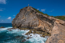 Pointe Des Chateaux In Guadeloupe