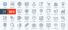 Outline Web Icons Set - Search...