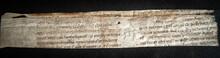 C12th MSS Manuscript On Vellum...