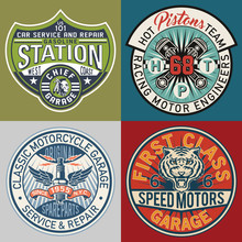 Motor Service Garage Patches C...