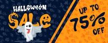 Halloween Discount Poster Ghos...