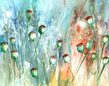 Abstract Background Poppy Seed...