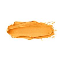 Orange Smudge Textured Isolate...