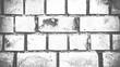 weiße verschmutze verwitterte Backsteinwand