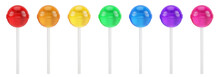 Colorful Sweet Lollipops - Rou...