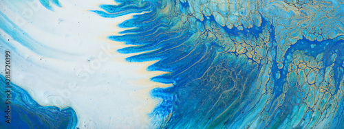 Stampa su Tela  art photography of abstract marbleized effect background