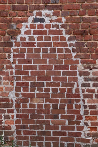 Brick Design on Building
