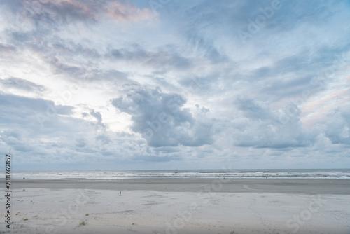 Poster Mer / Ocean baltic sea and blue sky