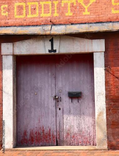 Valokuva Decorative Doorway of Yesteryear