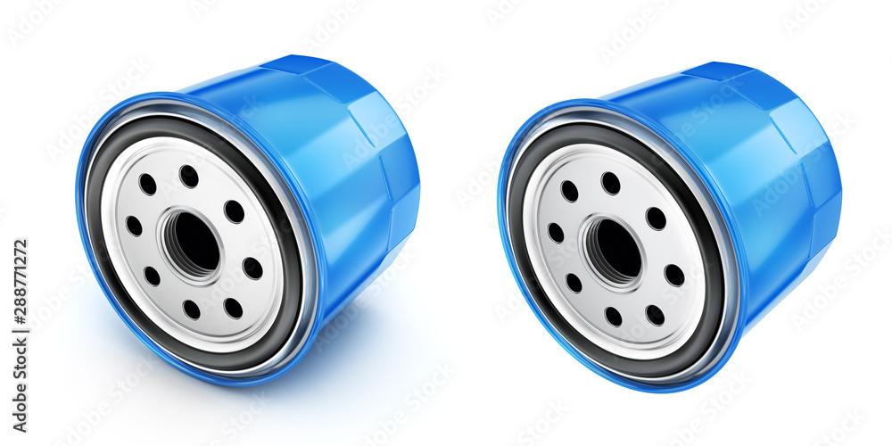 Fototapeta Oil filter car, 3d illustration