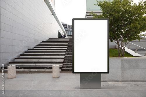 Fotografía  Blank street billboard poster