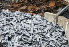 Piles Of Ferrous And Non-ferro...