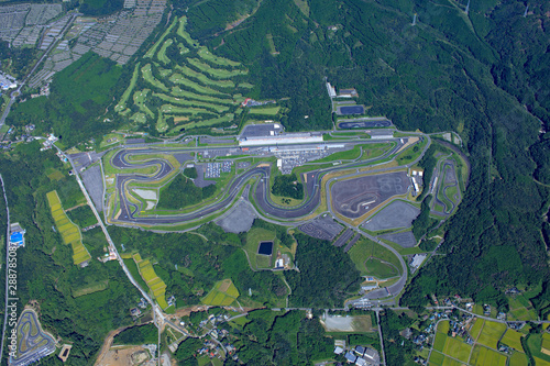 Garden Poster F1 富士スピードウェイ/レーシングコース