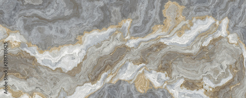 Photo Gray-white marble pattern