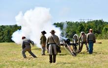 Artillery Demonstration At Man...