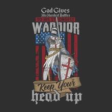 Warrior Veteran Illustration Vector