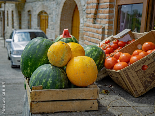 Fototapeta azerbajain caucus former Russian