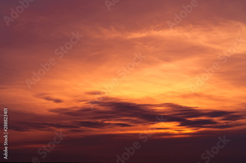 beautiful sunset sky golden sky at sunset art picture of sky and